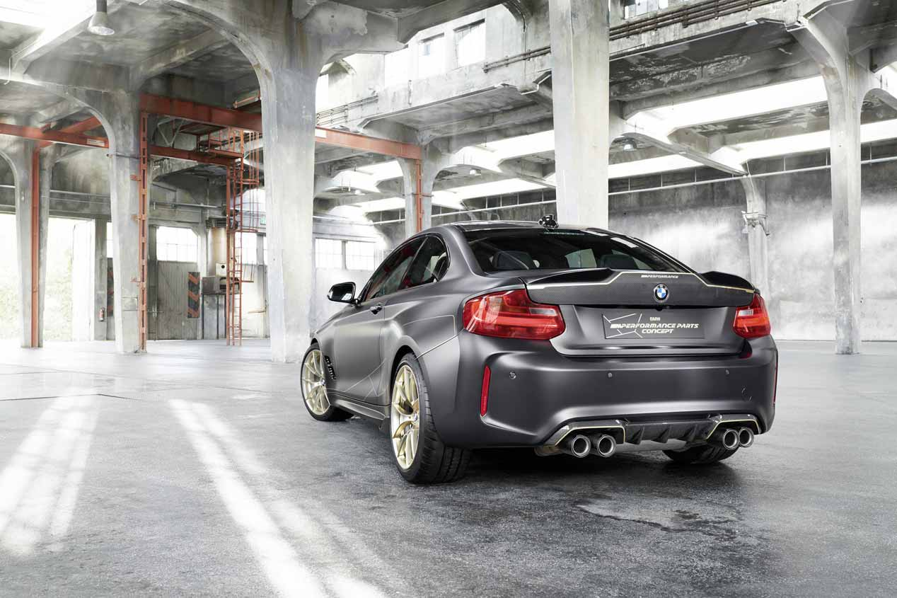 BMW M Performance Parts Concept: un M2 muy especial para Goodwood 2018
