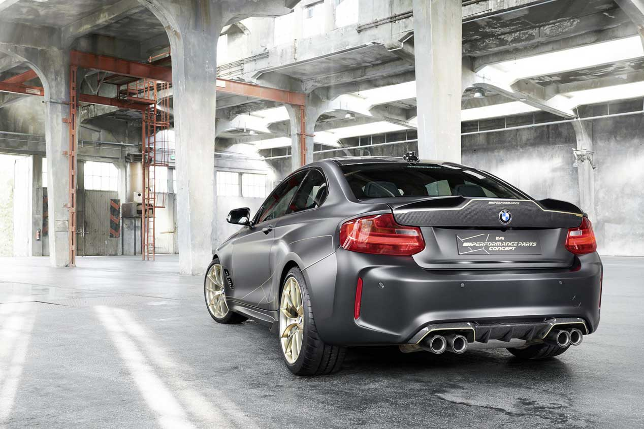 BMW M2 M Performance Parts Concept, en imágenes