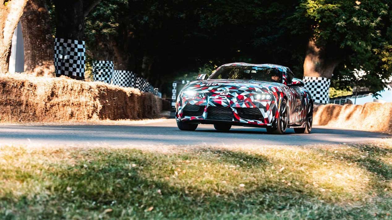Primeras imágenes del nuevo Toyota Supra en movimiento
