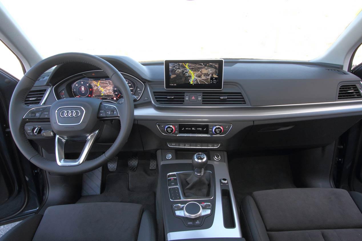A prueba el Audi Q5 TDI 150 4x2: cuestión de intereses
