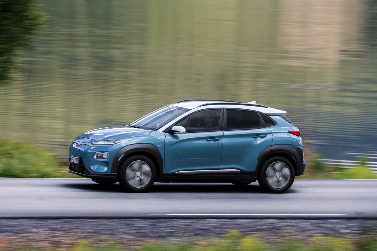 El SUV eléctrico Hyundai Kona EV, a la venta en septiembre