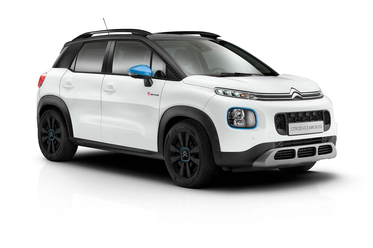 Citroën C3 Aircross Rip Curl: ya a la venta