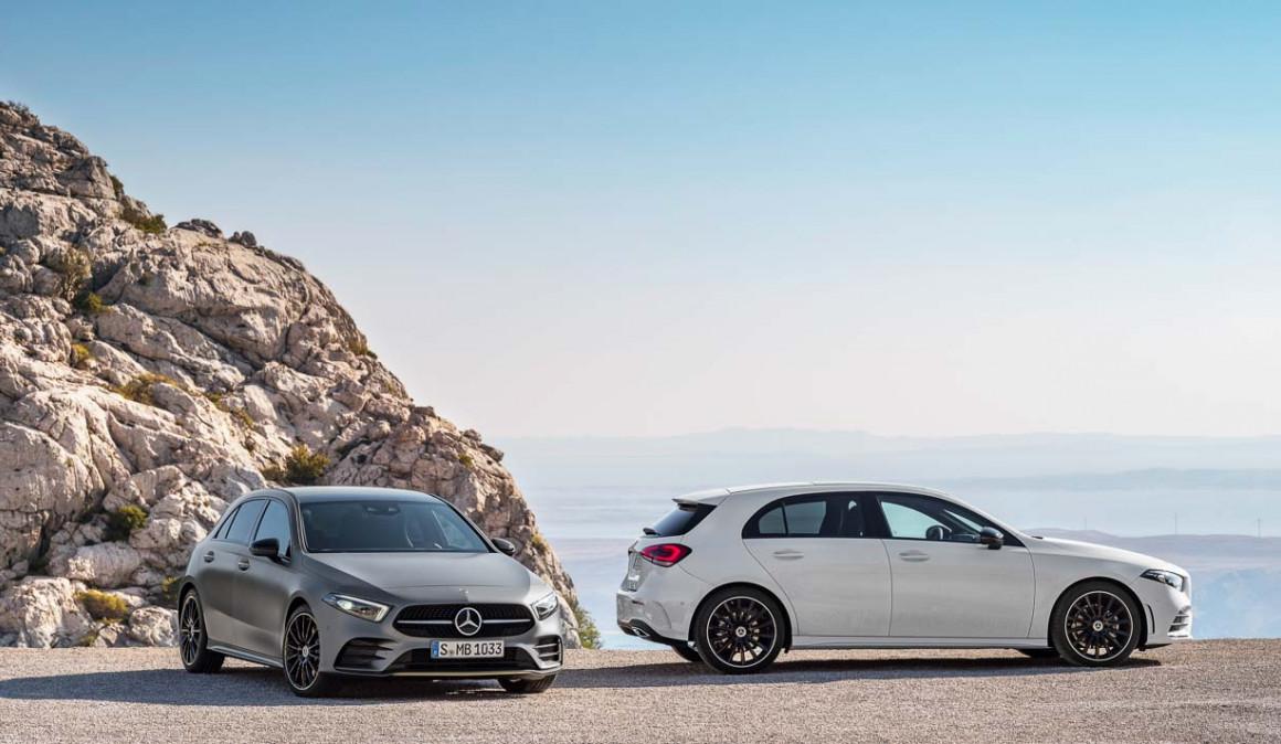 El Mercedes Clase A suma dos nuevas versiones de gasolina