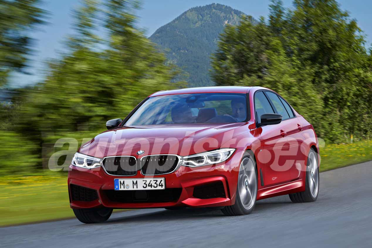Audi A4, BMW Serie 3 y Mercedes Clase C. Así son las nuevas berlinas
