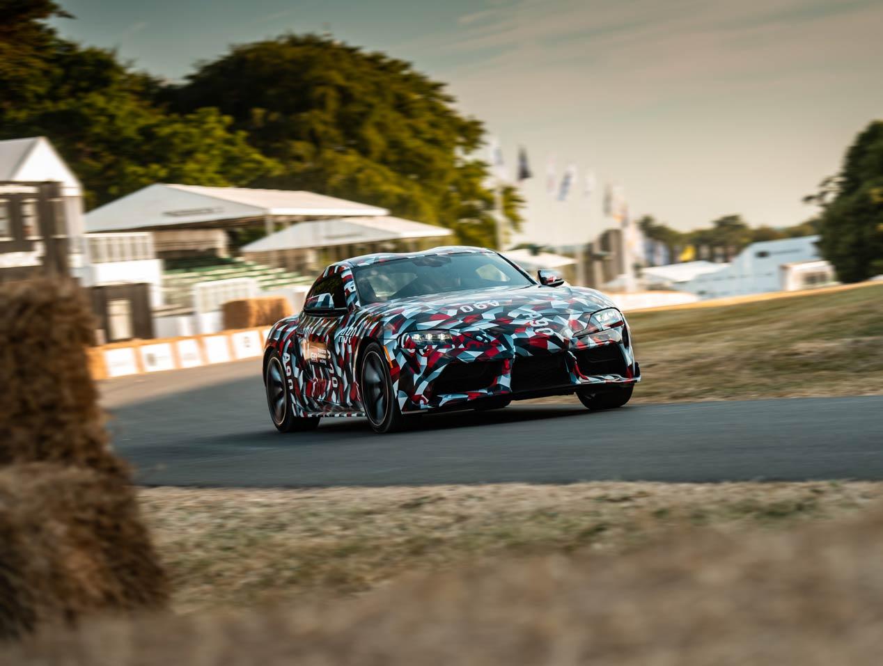 El Toyota Supra se deja ver en Goodwood