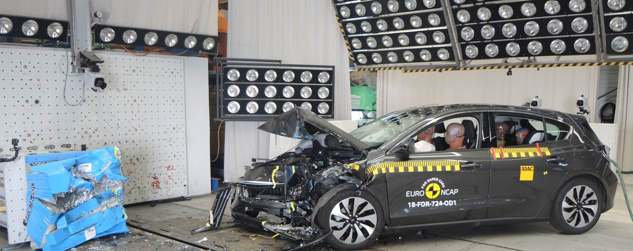 Test Euro NCAP: Ford Focus y Volvo XC40