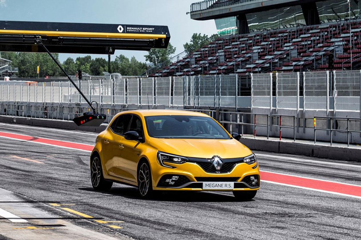 El Renault Mégane RS Trophy 2019, en imágenes