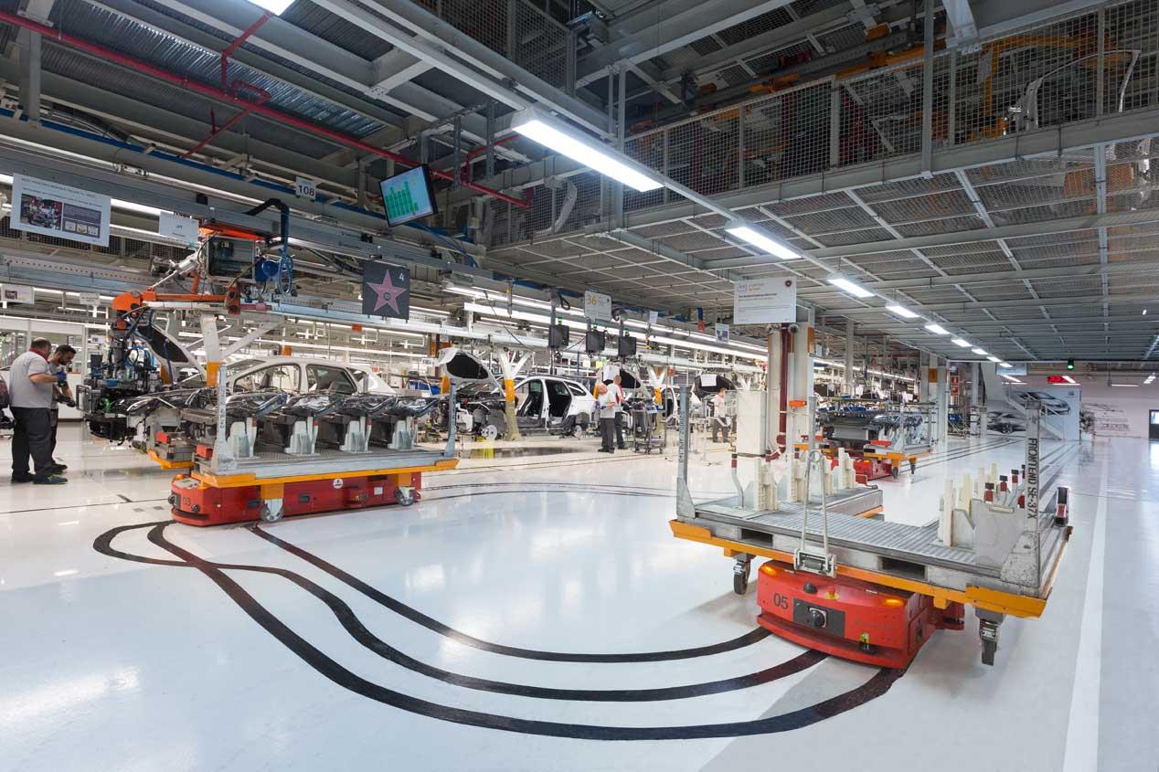 Un paseo por la fábrica de Seat en Martorell, las mejores imágenes