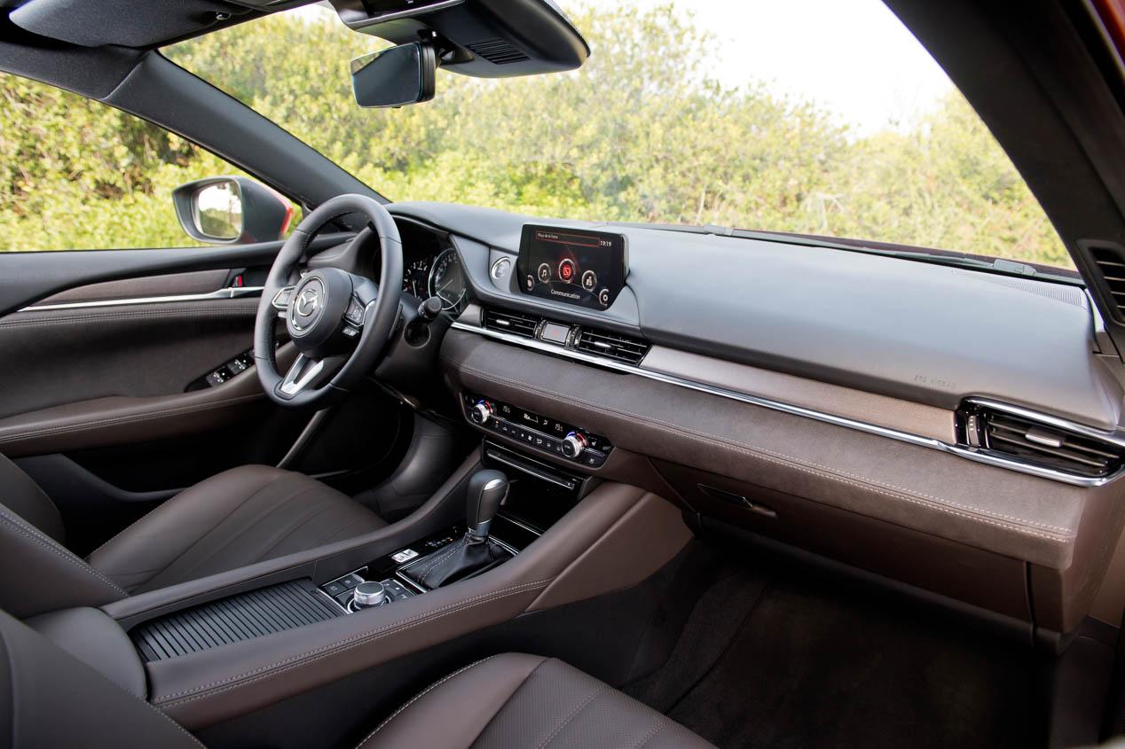 Mazda6 2018, más refinado y elegante
