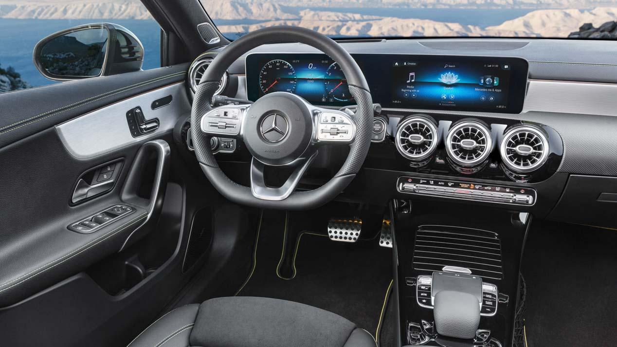 El Mercedes Clase A Sedán 2019, cada vez más cerca