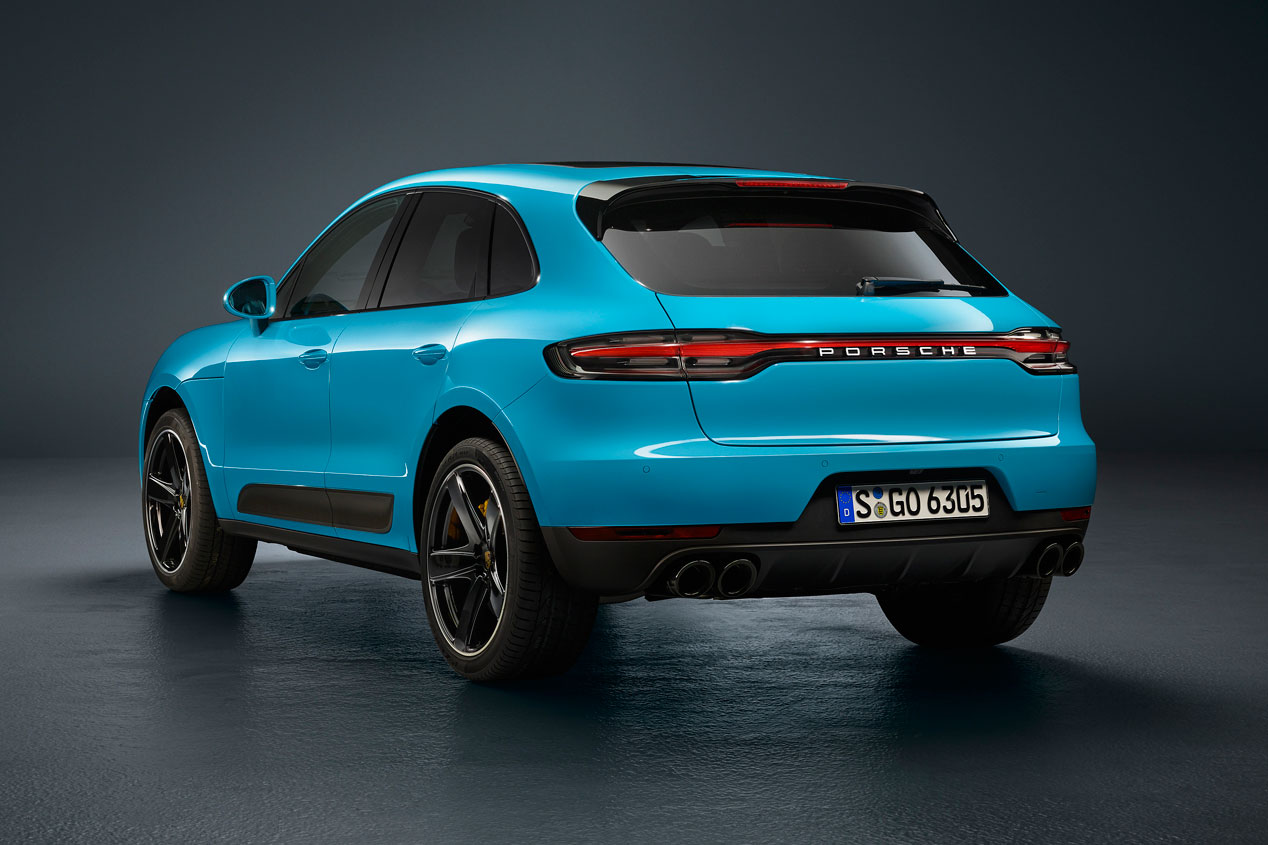 Porsche Macan 2019 Fotos Y Datos Oficiales Del Renovado Suv