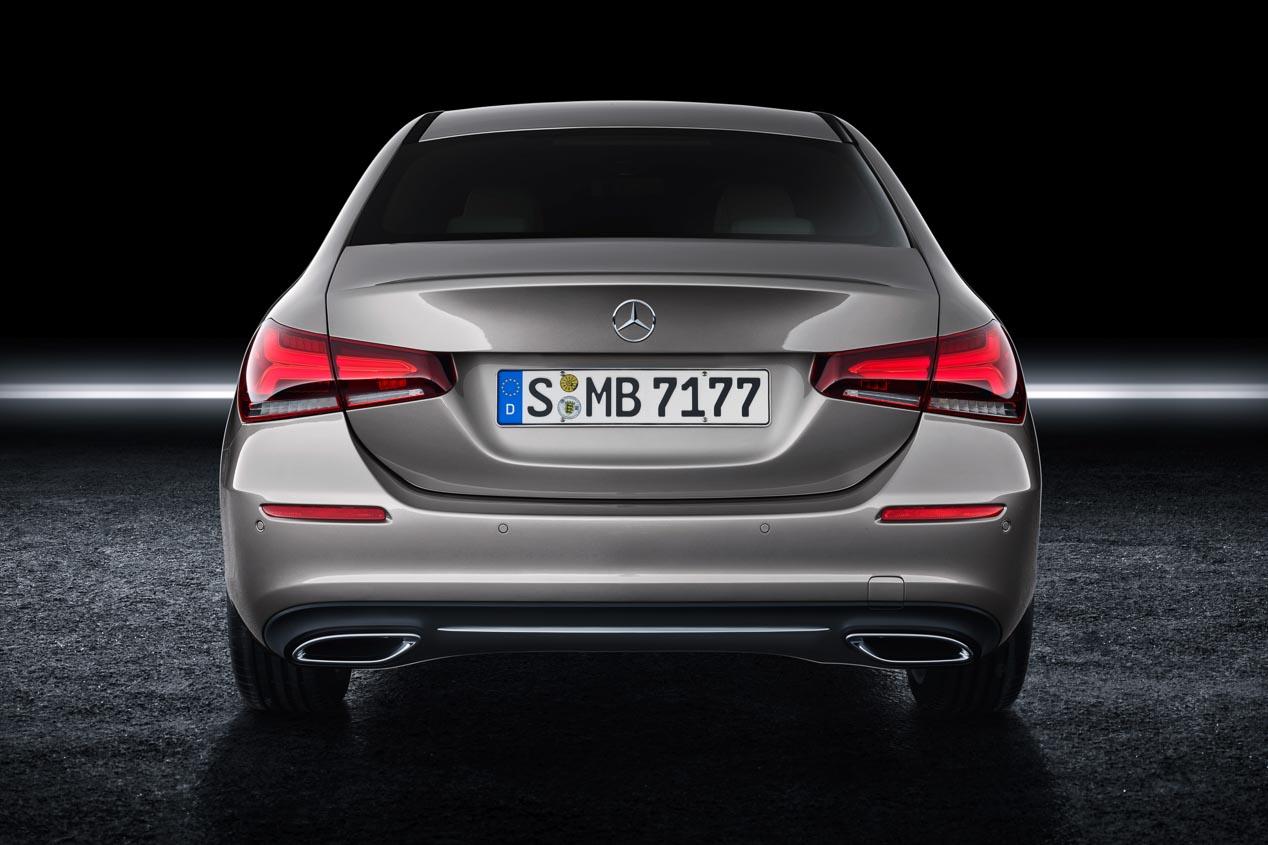 Mercedes Clase A Sedán 2019: datos y fotos oficiales