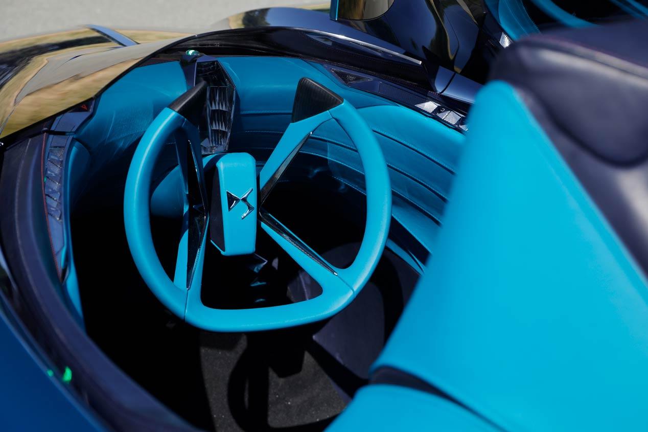 DS X E-Tense: dos coches en uno