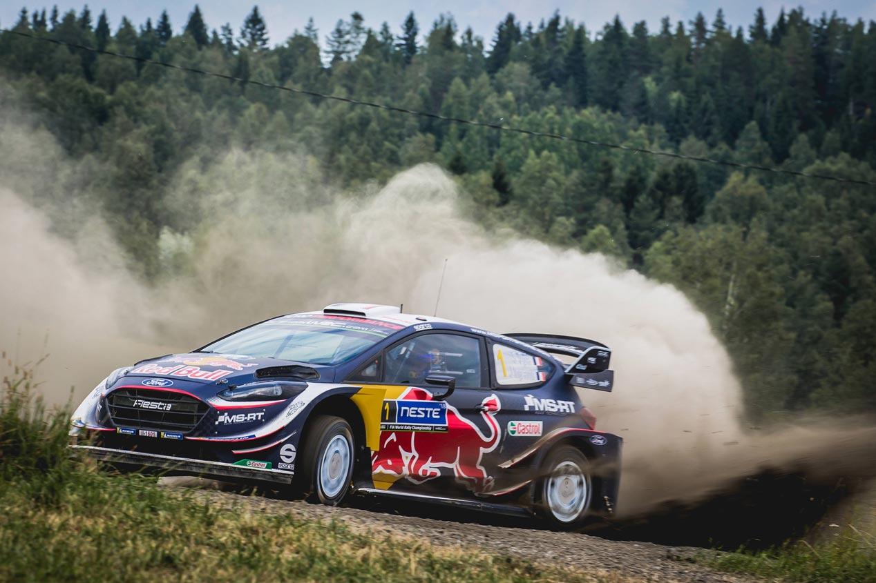 Las mejores fotos del Rally de Finlandia 2018