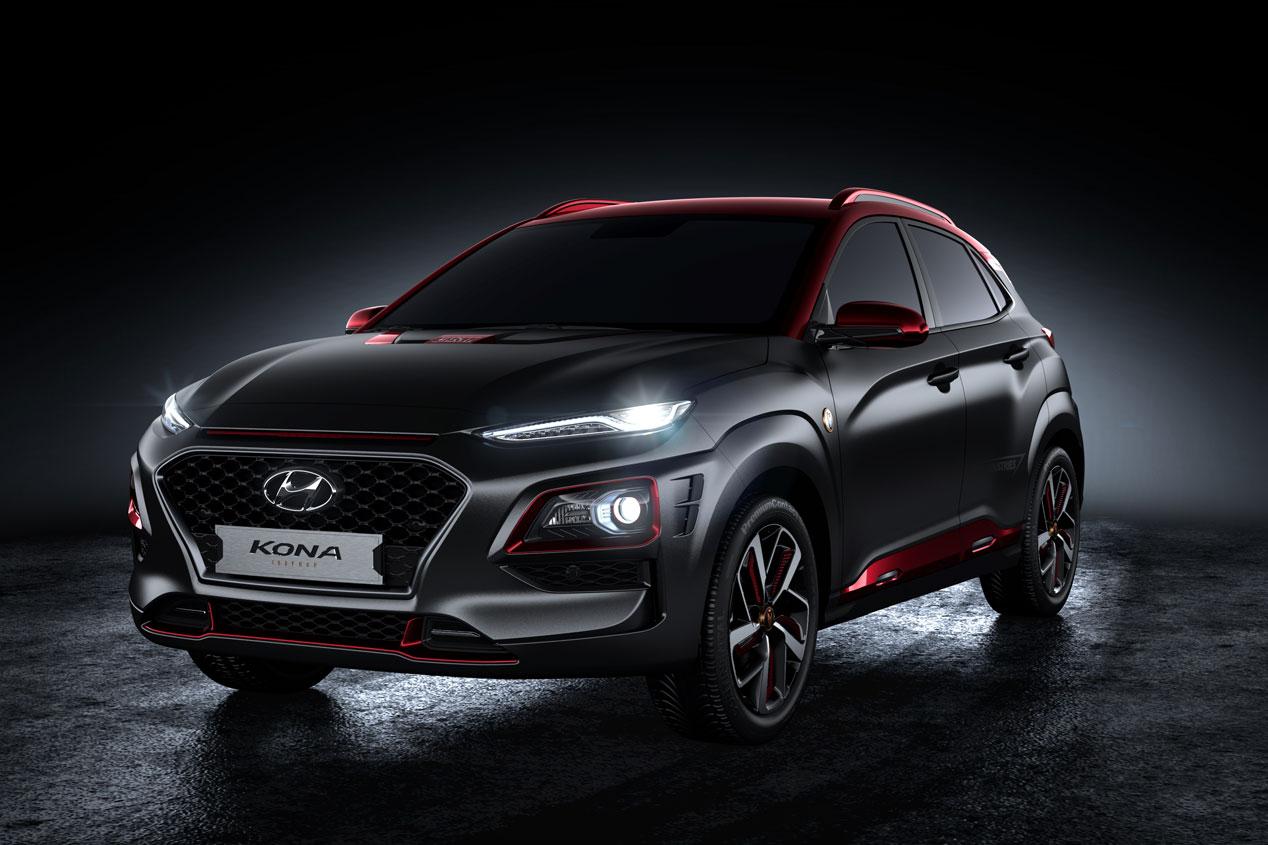 El Hyundai Kona Iron Man Edition, en imágenes
