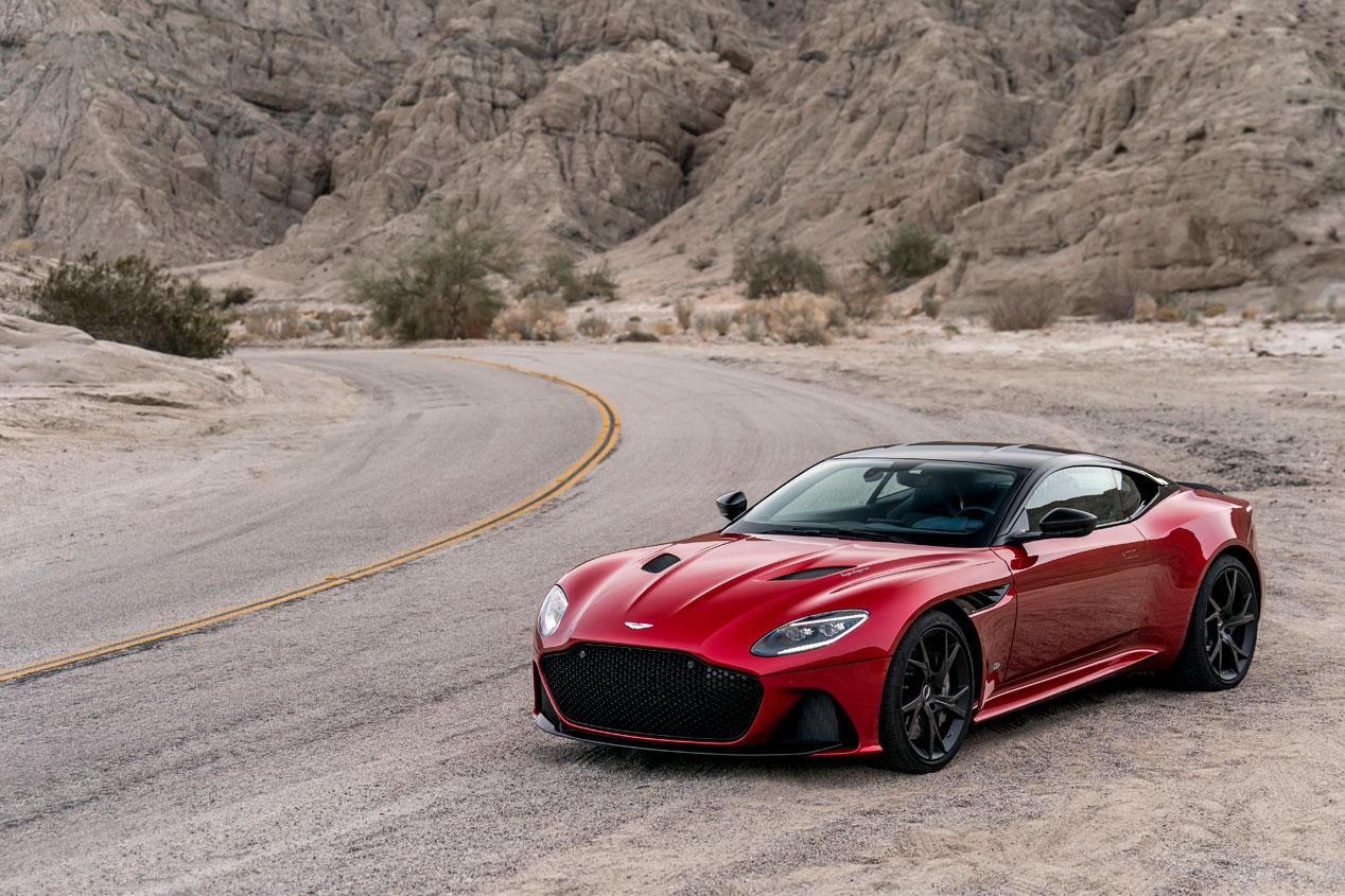 Probamos el Aston Martin DBS Superleggera