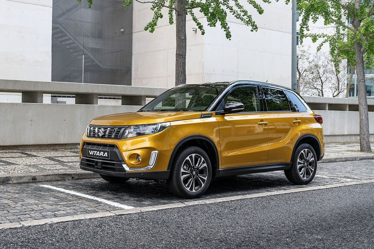 Suzuki Vitara 2019: primeras imágenes del renovado SUV