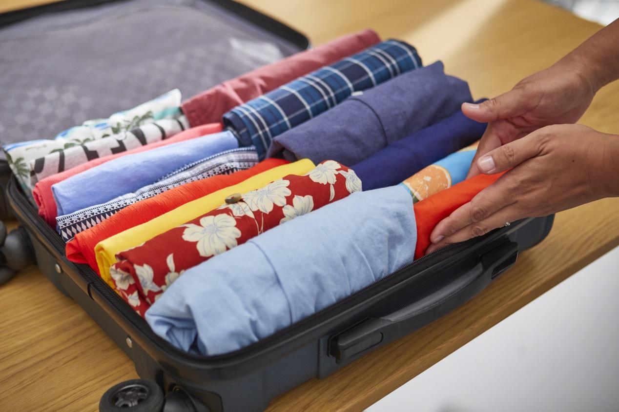 Cómo cargar el maletero, según el método KonMari
