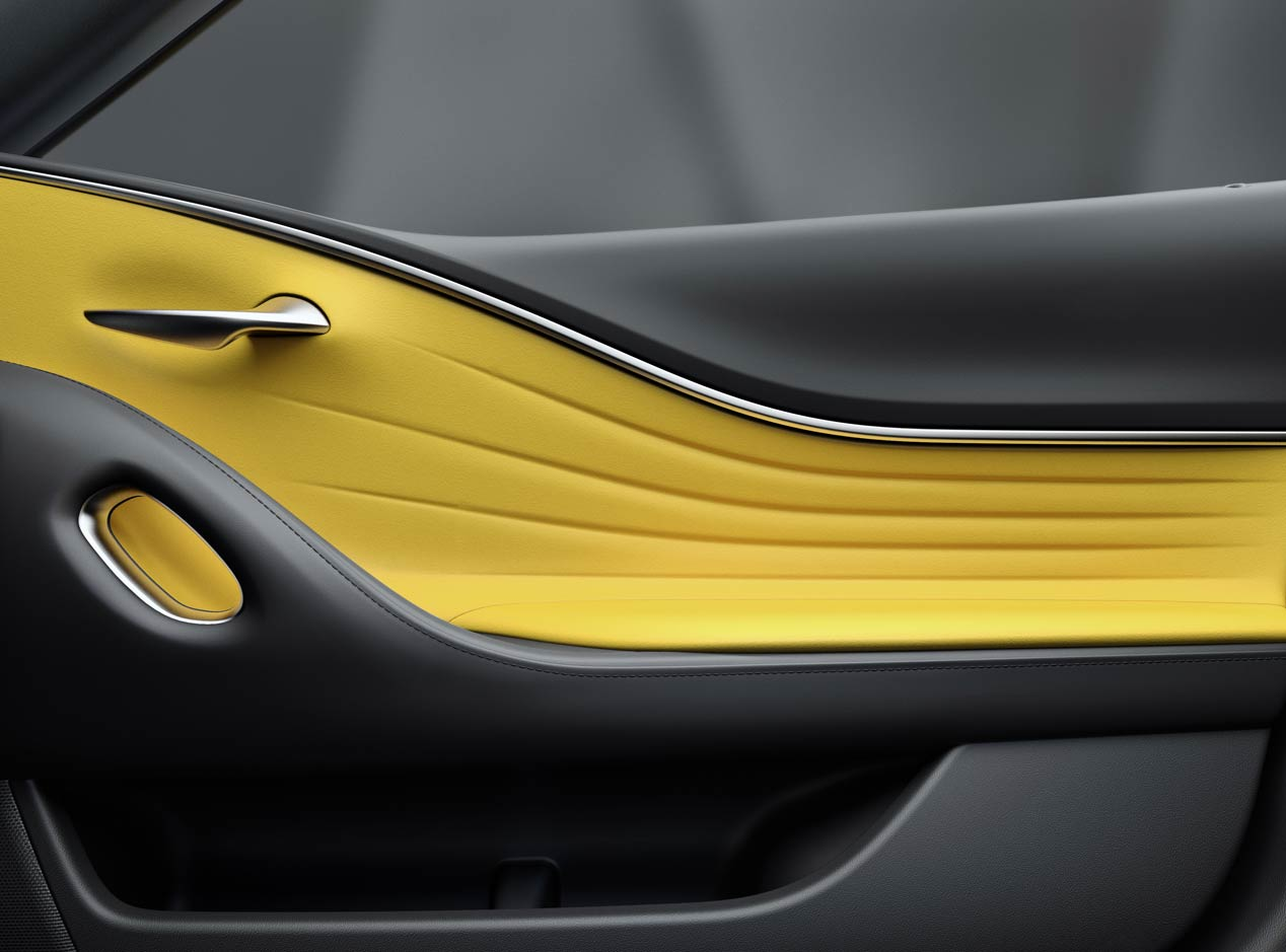 Lexus LC Yellow Edition, coupé amarillo