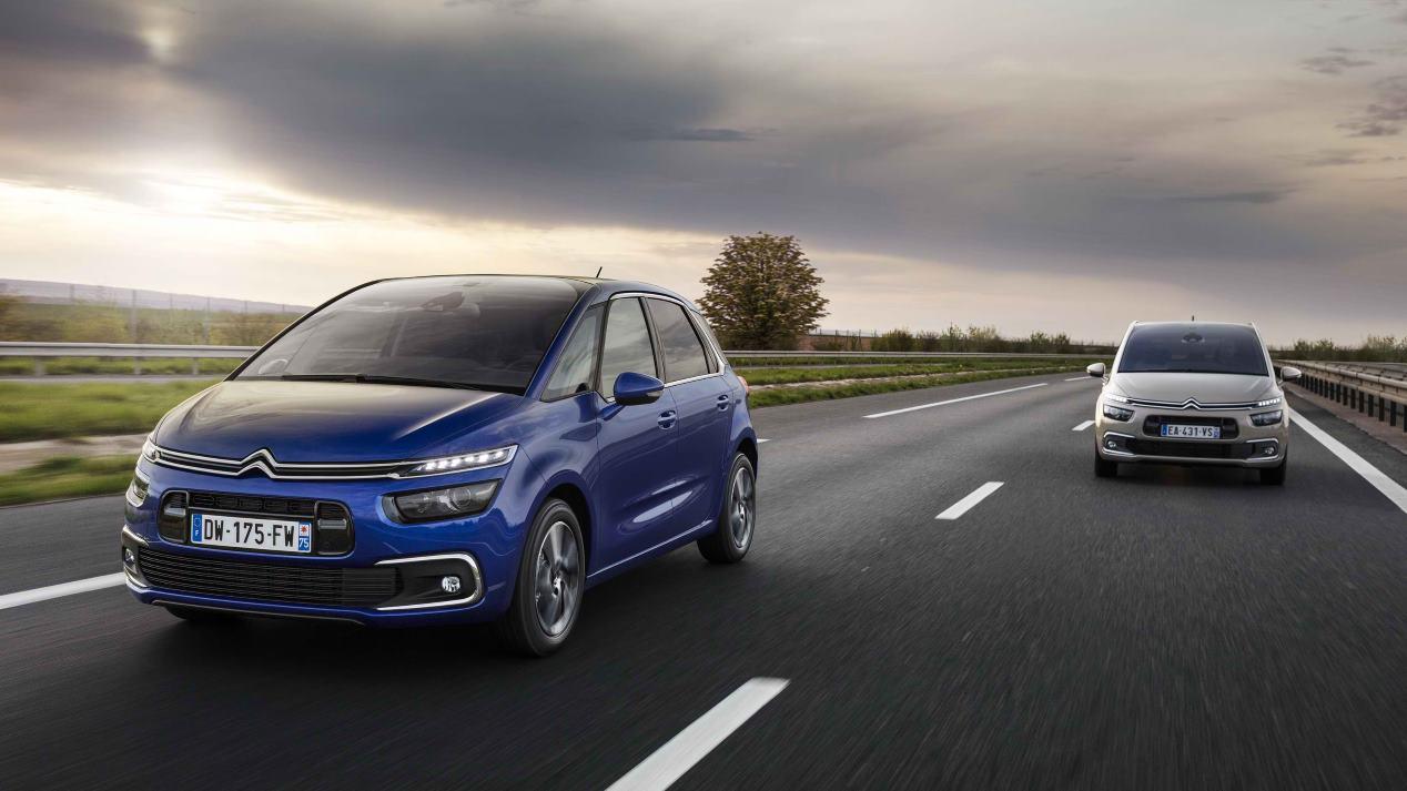 Citroën C4 y Grand C4 SpaceTourer: así son los familiares
