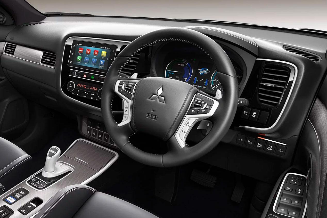 El Mitsubishi Outlander PHEV 2019, en imágenes