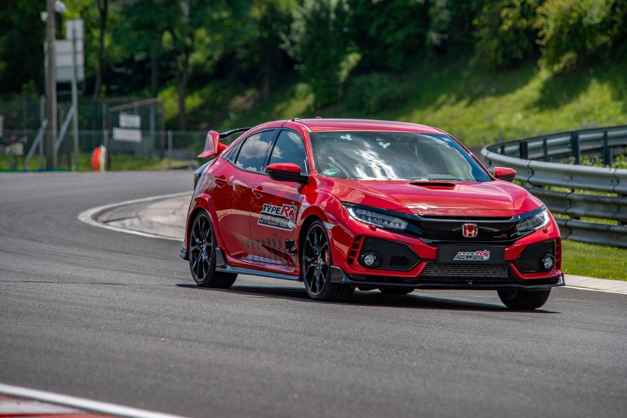 El Honda Civic Type R, récord de vuelta rápida en Hungaroring