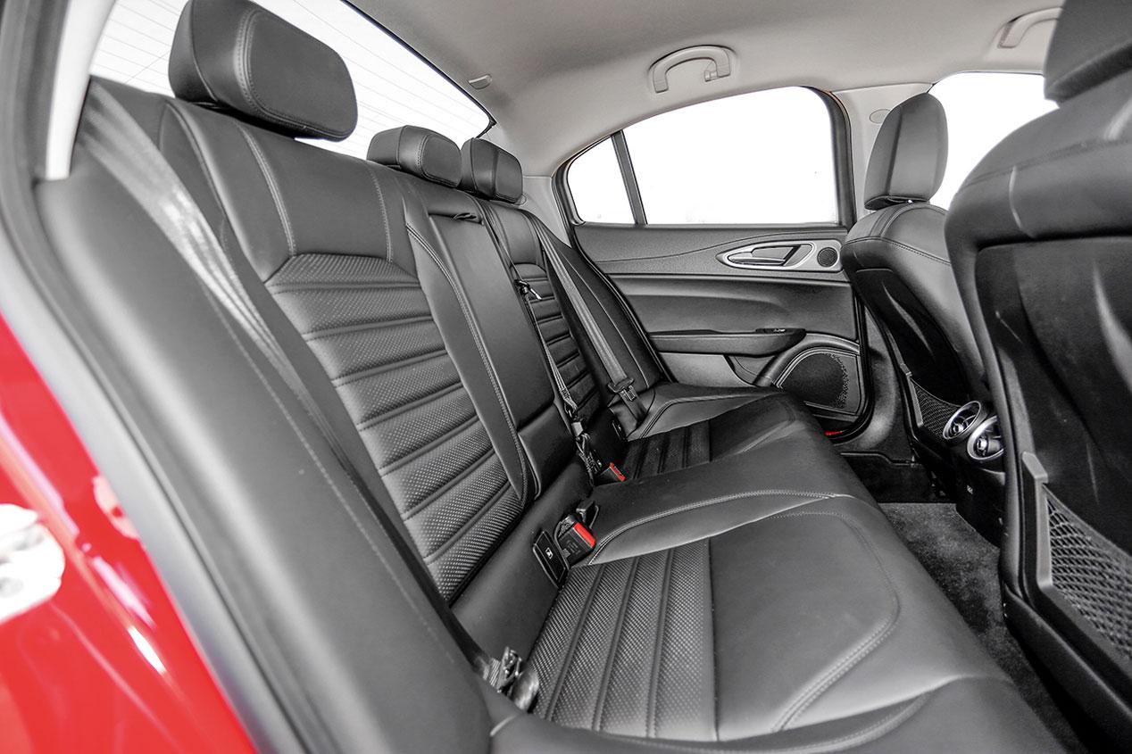 A prueba el Alfa Romeo Giulia, el Opel Insignia y el VW Arteon