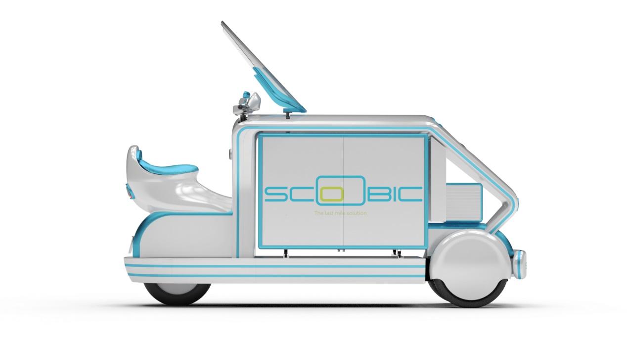 Scoobic: así es el vehículo eléctrico, ciudadano y salva vidas