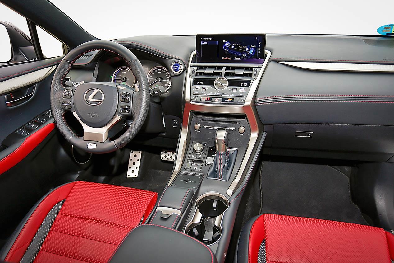Lexus NX 300h: SUV, híbrido, elegante, deportivo...