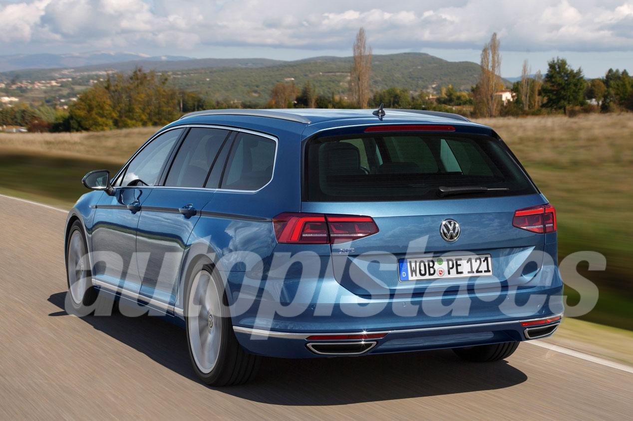 VW Passat 2019: cuenta atrás para la llegada de la nueva berlina