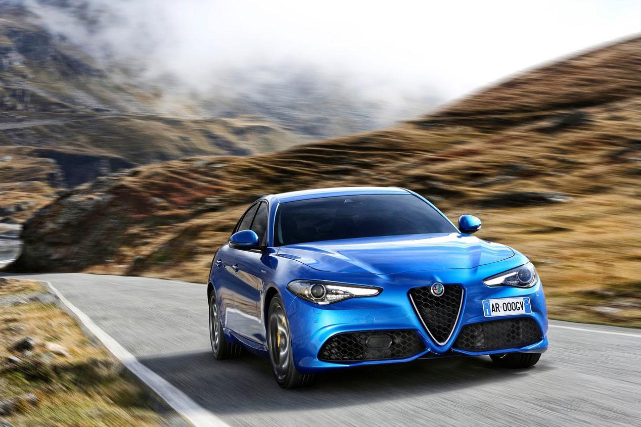 Alfa Romeo Giulia y Stelvio 2019, en imágenes