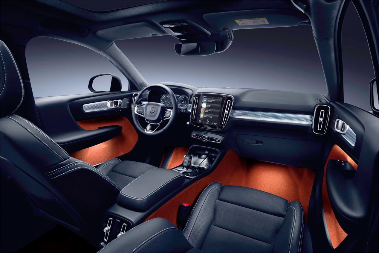 Volvo XC40, el SUV compacto, también con motor tricilíndrico de gasolina