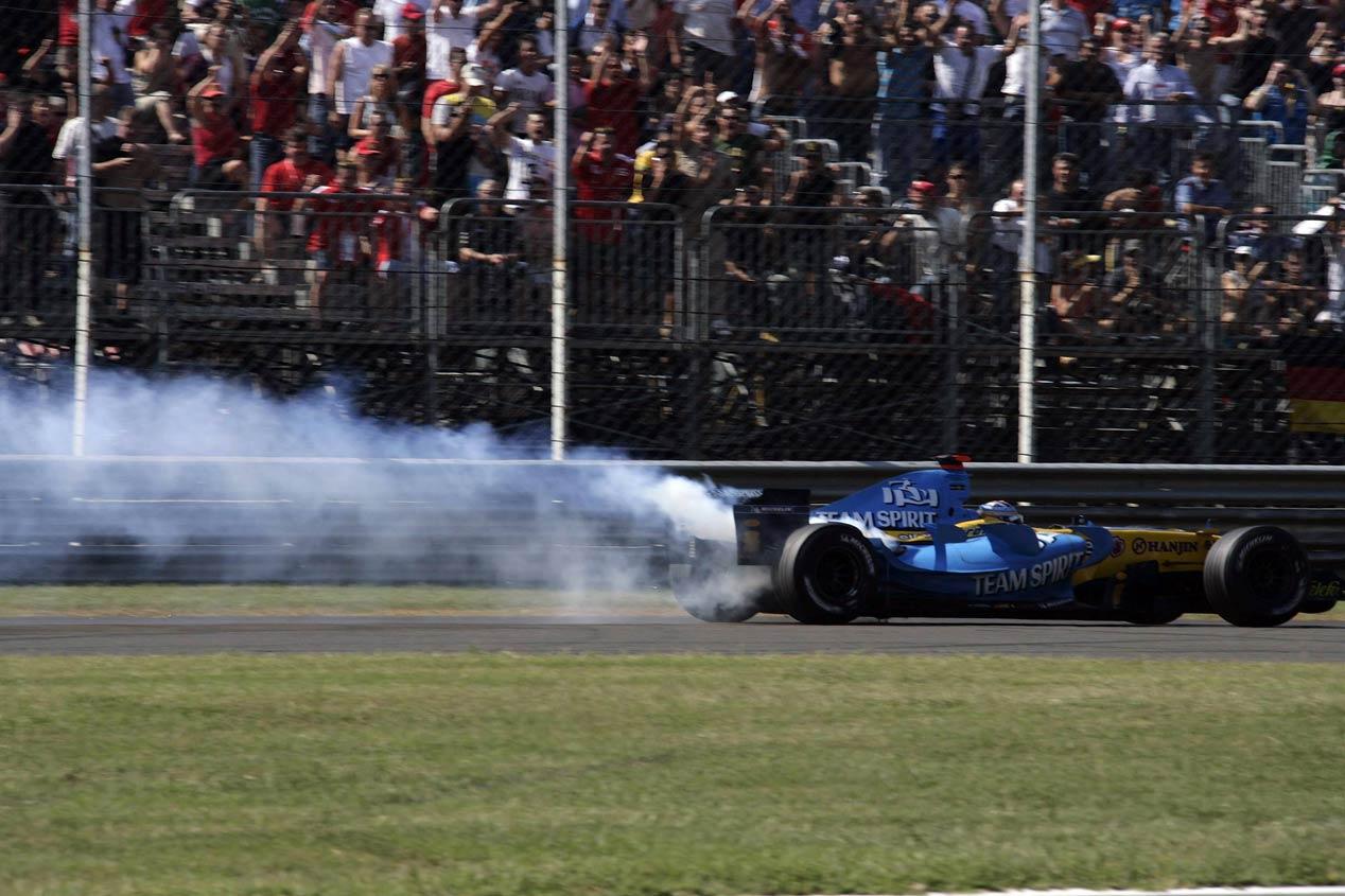 Los peores momentos de Fernando Alonso en F1, en imágenes