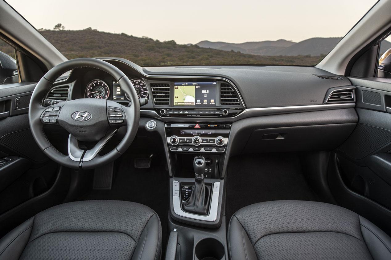 Hyundai Elantra 2019: las mejores imágenes de la renovada berlina