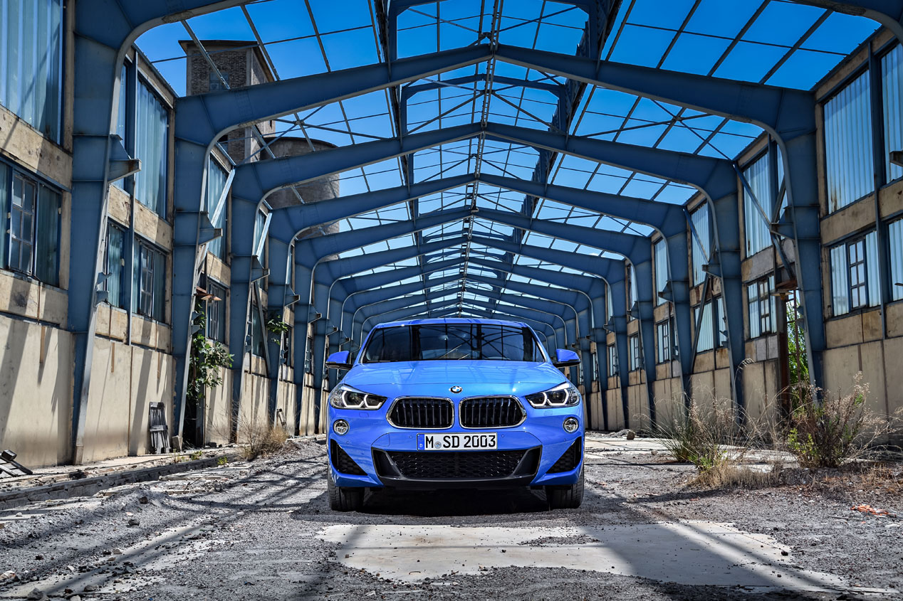 Nuestra prueba del BMW X2 sDrive 18d de 150 CV, en imágenes