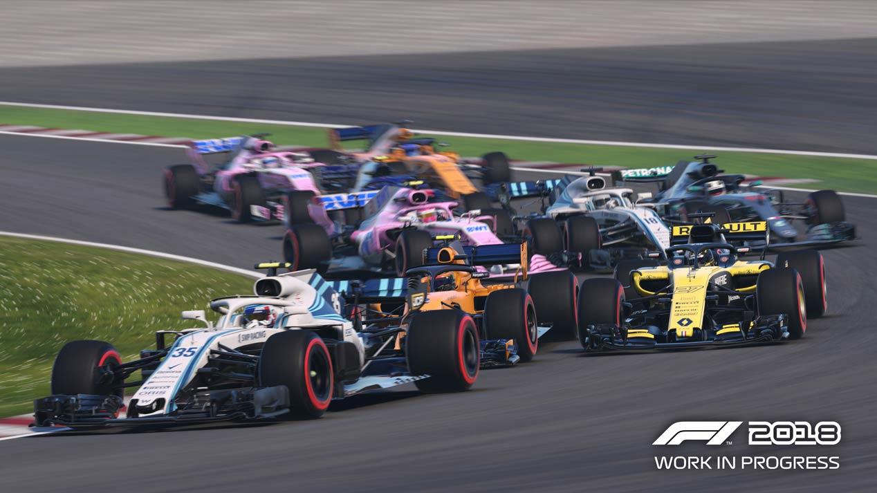 Llega F1 2018, el videojuego del Mundial de Fórmula 1