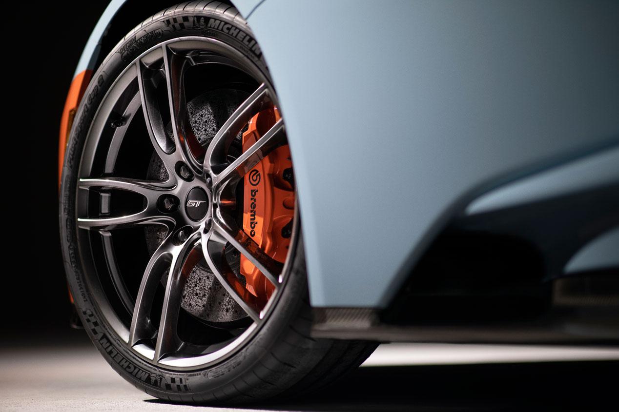 El Ford GT Heritage Edition, en imágenes