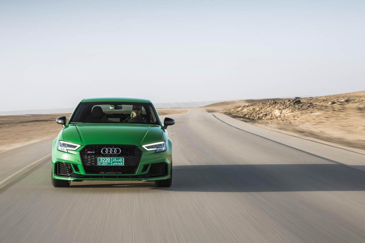 La producción del Audi RS 3, interrumpida