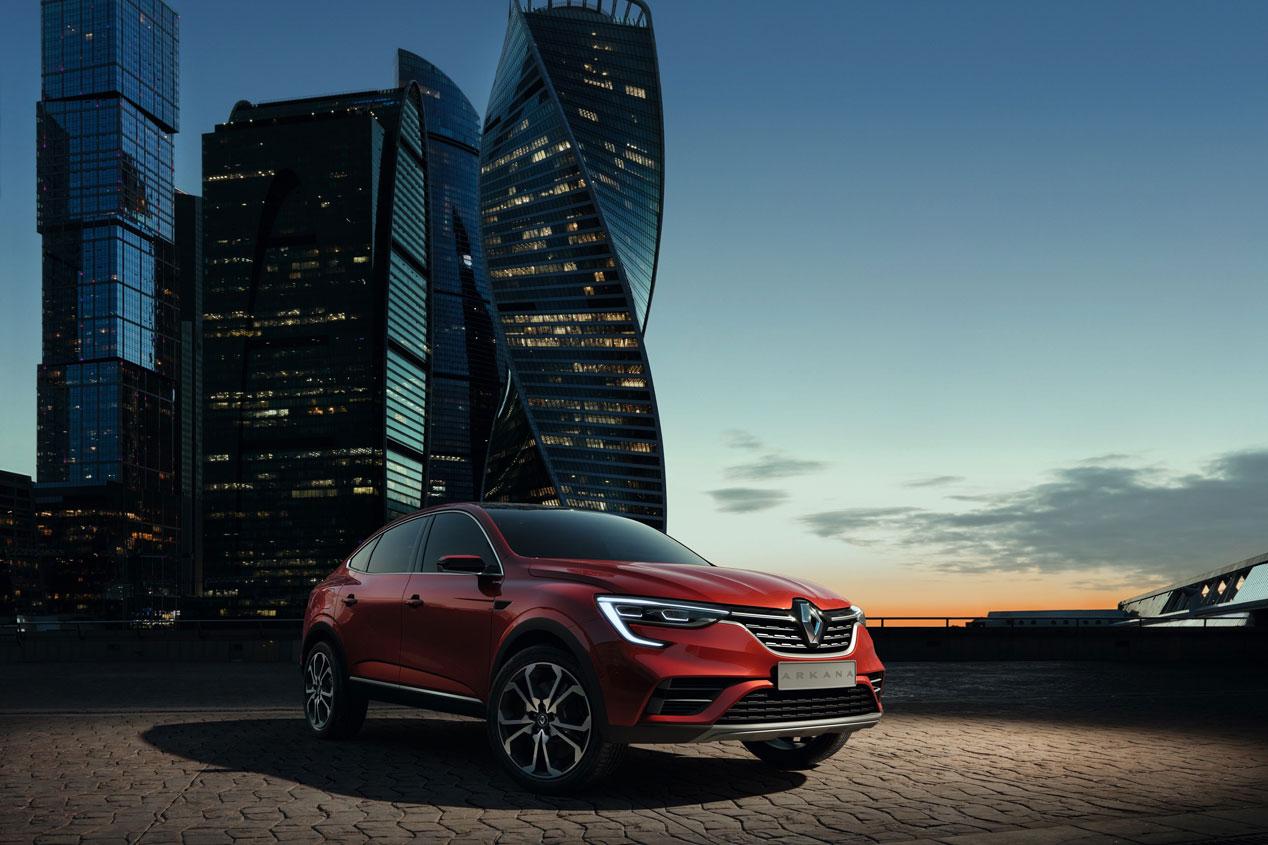 Renault Arkana 2019: las mejores imágenes del nuevo SUV coupé