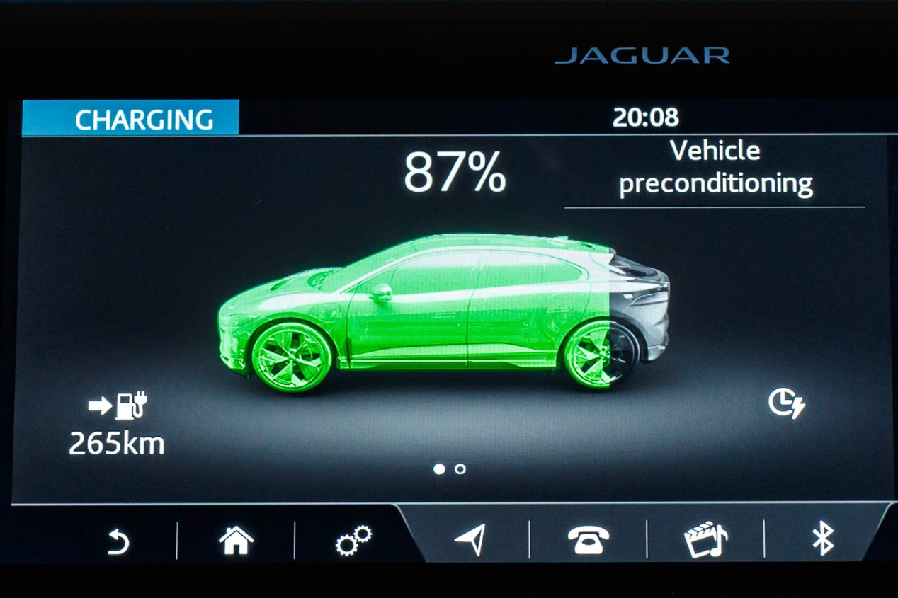 El Jaguar I-Pace, un SUV de récord