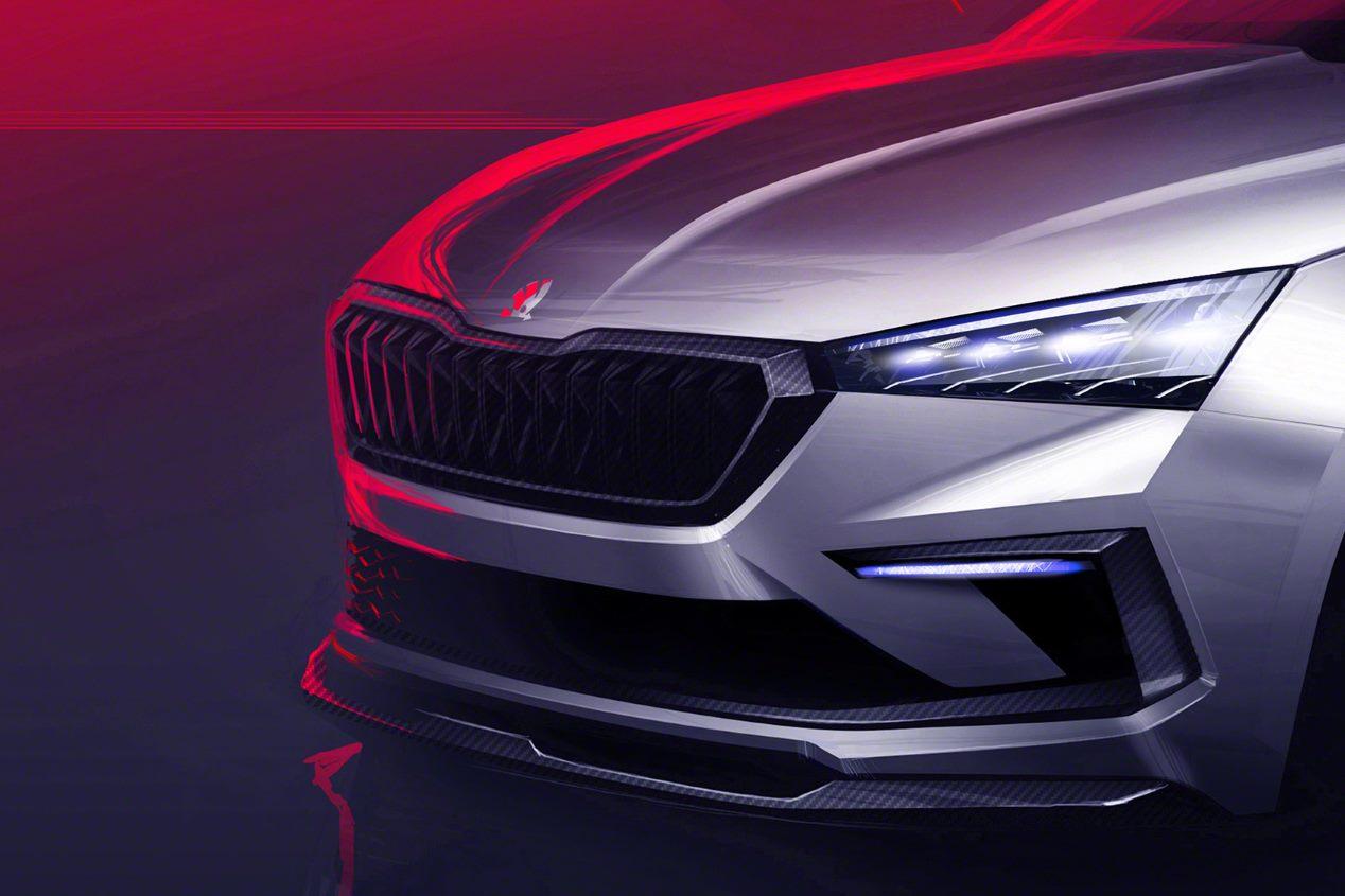 Skoda Vision RS: el futuro compacto de la marca
