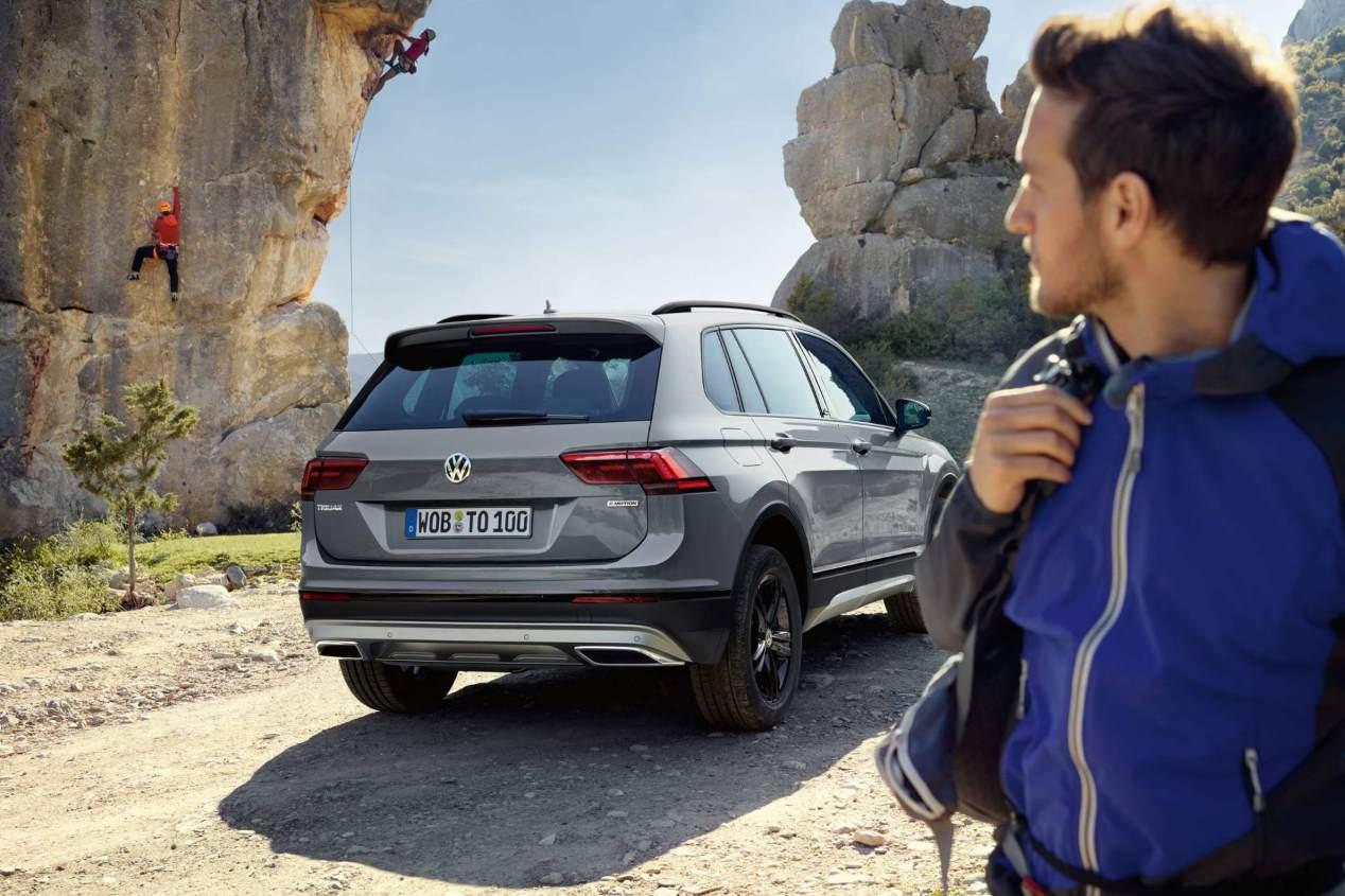 VW Tiguan Offroad: la nueva versión del SUV compacto