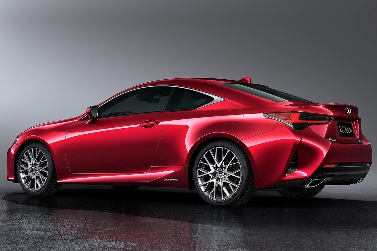 Lexus RC 2019: diseño renovado y comportamiento mejorado