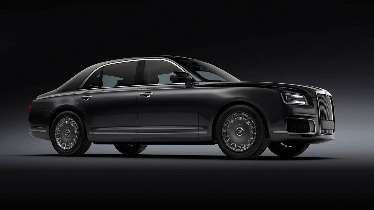 Aurus Senat, así es la nueva limusina de lujo rusa