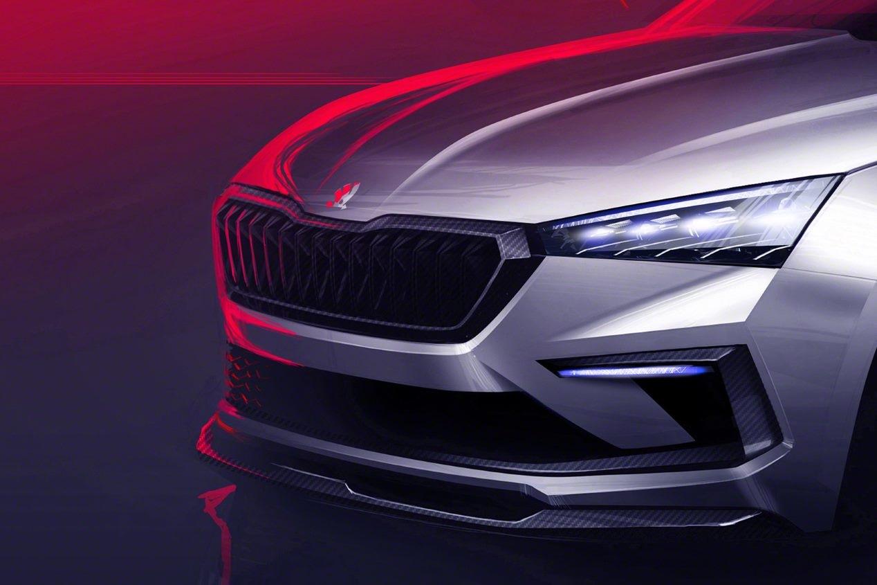 Skoda Vision RS: así será el sustituto del Spaceback 2019