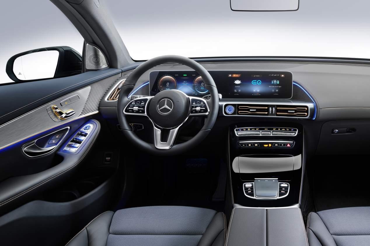Mercedes EQC 2019: todas las fotos del futuro SUV eléctrico