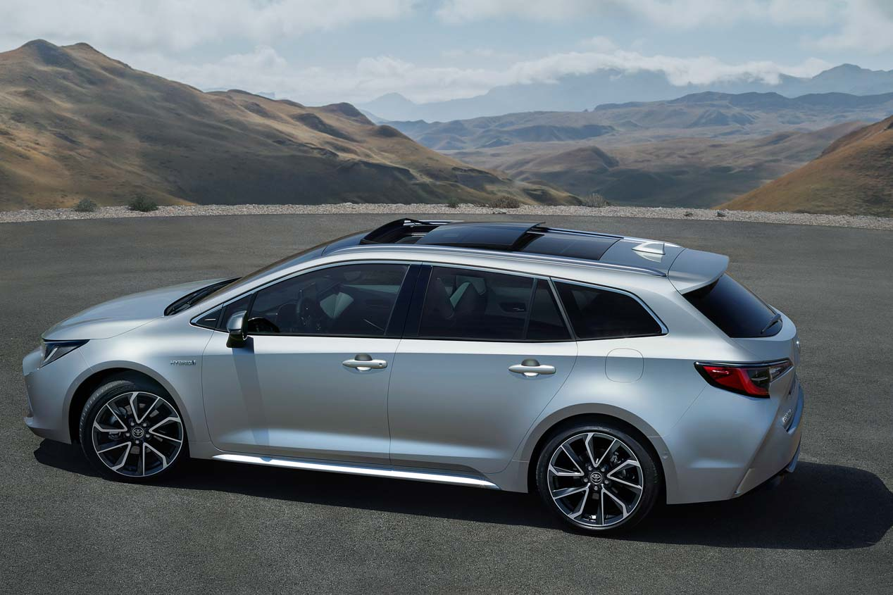 Toyota Corolla Hybrid Touring Sports, ahora más potente