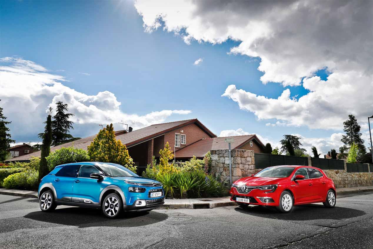 Comparativa: Citroën C4 Cactus PureTech vs Renault Mégane TCE