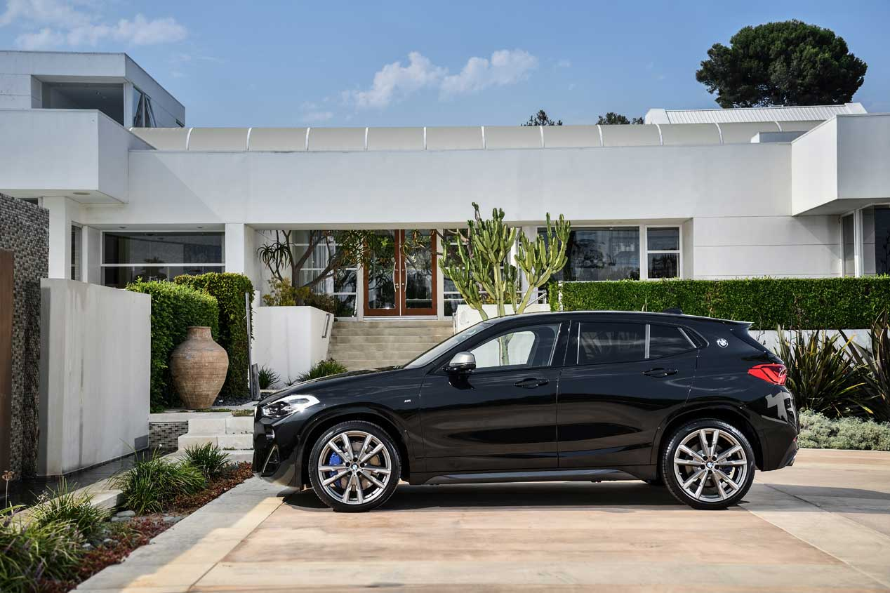 BMW X2 M35i, aquí tienes la versión más deportiva del SUV