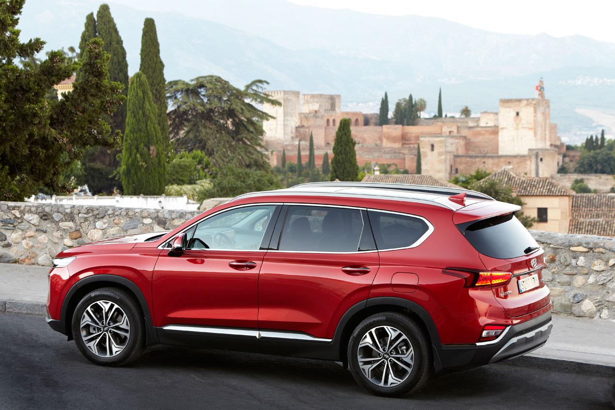 A prueba el Hyundai Santa Fe 2018